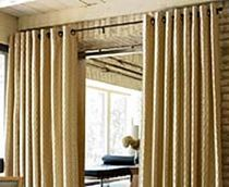 motif eyelet curtain  Avenue home