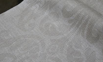 motif linen fabric GLYCINE  lemaitre-demeestere.com