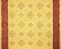 motif silk fabric LIGHT SNOW Nomi Fabrics