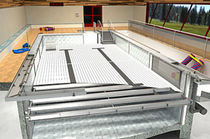 movable floor for public pools  Malmsten