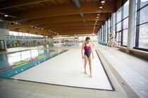 movable floor for public pools FONDO MOBILE, CENTRO MERANARENA PISCINE CASTIGLIONE