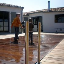 movable pool floor (in wood) SIMPLICITY Aqualift