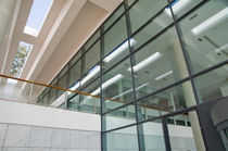 mullion and transom curtain wall (aluminium and glass) W58 Sepalumic