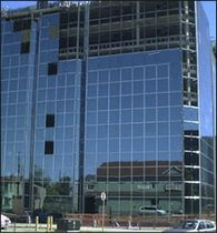 mullion and transom curtain wall (aluminium and glass) HP 6175 SERIES Alumico Architectural Inc