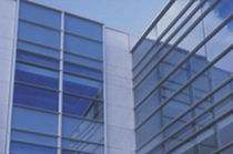mullion and transom curtain wall (aluminium and glass)  Domal