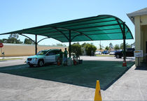multi-function shelter for public spaces AUTO SPA Apollo Sunguard