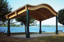 multi-function shelter for public spaces  BYO Playground, Inc.
