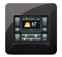 multifunction home automation system with touch-screen TS2 ELAN HOME SYSTEMS