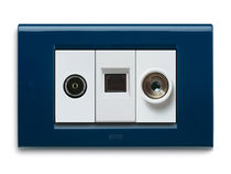 multimedia socket RAL SERIES Ave spa