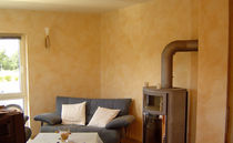 natural decorative lime plaster with marbre grains (for interior) VEGA : FINE RENDER Kreidezeit Naturfarben