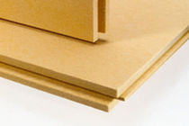 natural insulation panel in wood fiberboard DFF EGGER France
