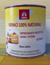 natural paint Aleurite oil based (for exterior woodwork) NUTRI PIÙ Durga