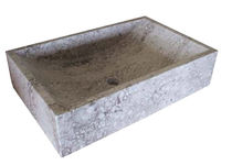 natural stone counter top washbasin CORAIL ROUSSEAU