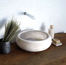 natural stone counter top washbasin FAVIGNANA Petra Design s.r.l.