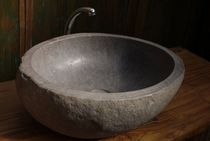 natural stone counter top washbasin   MATAHATI