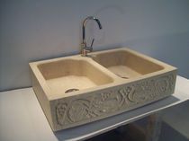 natural stone kitchen sink VENEZIA stonebreakers