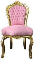 new baroque design chair ROSA/GOLD Casa Padrino / Demotex GmbH