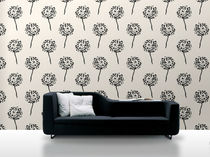 non-woven wallpaper: floral pattern SAGA: 2416 Decor Maison