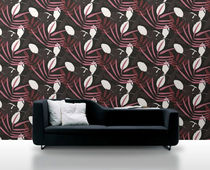 non-woven wallpaper: floral pattern NATURE: 2232 Decor Maison