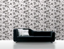 non-woven wallpaper: floral pattern 3007 Decor Maison