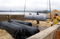 nonwoven geotextile for drainage REACTIVE CORE MAT&reg; CETCO EUROPE