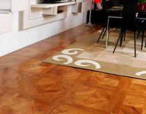 oak engineered wood floor tile BACCO L'ARTE NEL PARQUET DI LATTANZIO G.