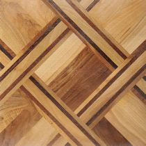 oak engineered wood floor tile ISTAMBUL L'ARTE NEL PARQUET DI LATTANZIO G.