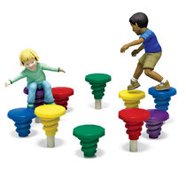 obstacle course for playground EXPLORERS&reg; : BUTTON LOOP PLAYWORLD