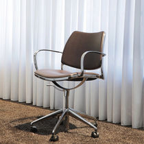 office chair with armrests GAS by Jesus Gasca STUA