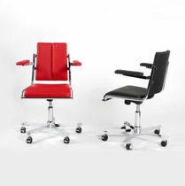 office chair with armrests D 12 Tecta