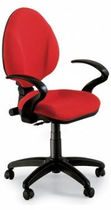 office chair with armrests UF116 Drigani Galliano Snc