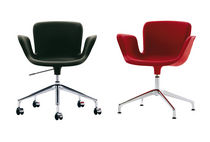 office chair with armrests JULI 09 by Werner Aisslinger Cappellini
