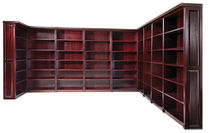 office corner shelf  Arnold Kolax Furniture