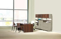 office desk and storage set VICINITY HON