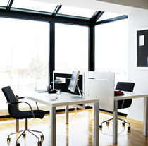 office partition SHADE by Nina Jobs ABSTRACTA