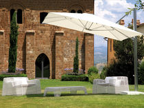 offset patio umbrella SHADE by Christophe Pillet EMU