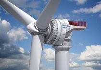 offshore three-bladed horizontal axis wind turbine HALIADE™ 6MW Alstom