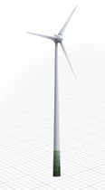 onshore three-bladed horizontal axis wind turbine E-48 / 800 KW Enercon