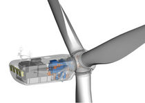 onshore three-bladed horizontal axis wind turbine FL 3000 3MW Fuhrländer