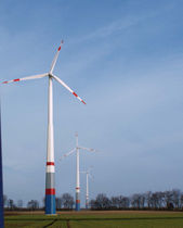 onshore three-bladed horizontal axis wind turbine K120 2.3 MW Kenersys