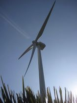 onshore three-bladed horizontal axis wind turbine ECO 100 Alstom