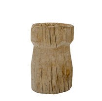 organic design stool teck Lodge Collection