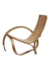 organic design wood chair ARC Tom Raffield