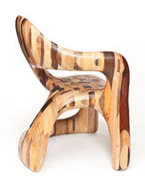 organic design wood chair CORSICAN by Spencer & Young Todd Merrill Studio Contemporary