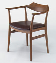 organic design wood chair SR-01 by Sigurd Ressel KITANI