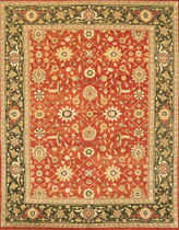 oriental floral patterned rug EDO Lee Jofa