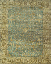oriental floral patterned rug MURIS Lee Jofa