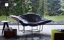 original design armchair WALLACE by Jean-Marie Massaud Poliform