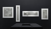 original design CD/DVD wall shelf XCD by Massimo Cavana  Res Italia