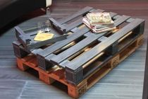 original design coffee table Palette en zinc Dezinc